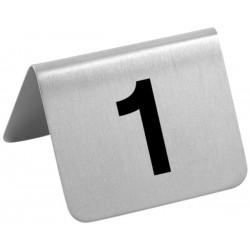 Tischschilder Nummern