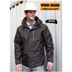 Denim Texture Rugged Jacket...