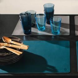 Tischset aus Kunstleder -...